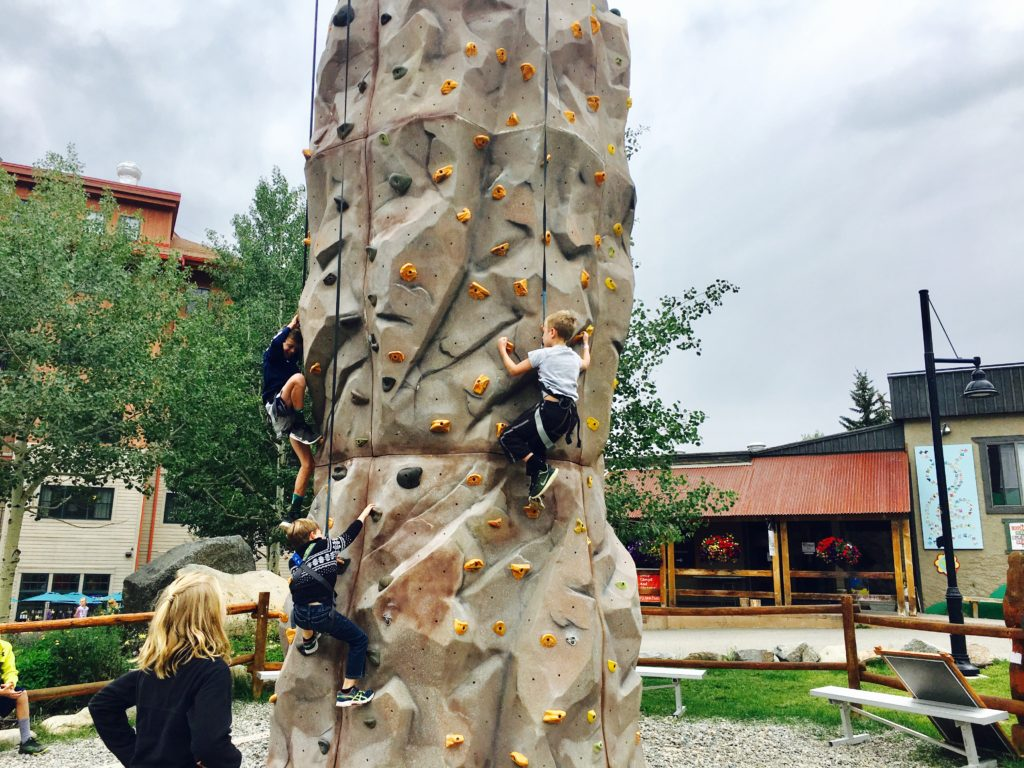 Crested Butte Mountain Village Adventure Camp Colorado