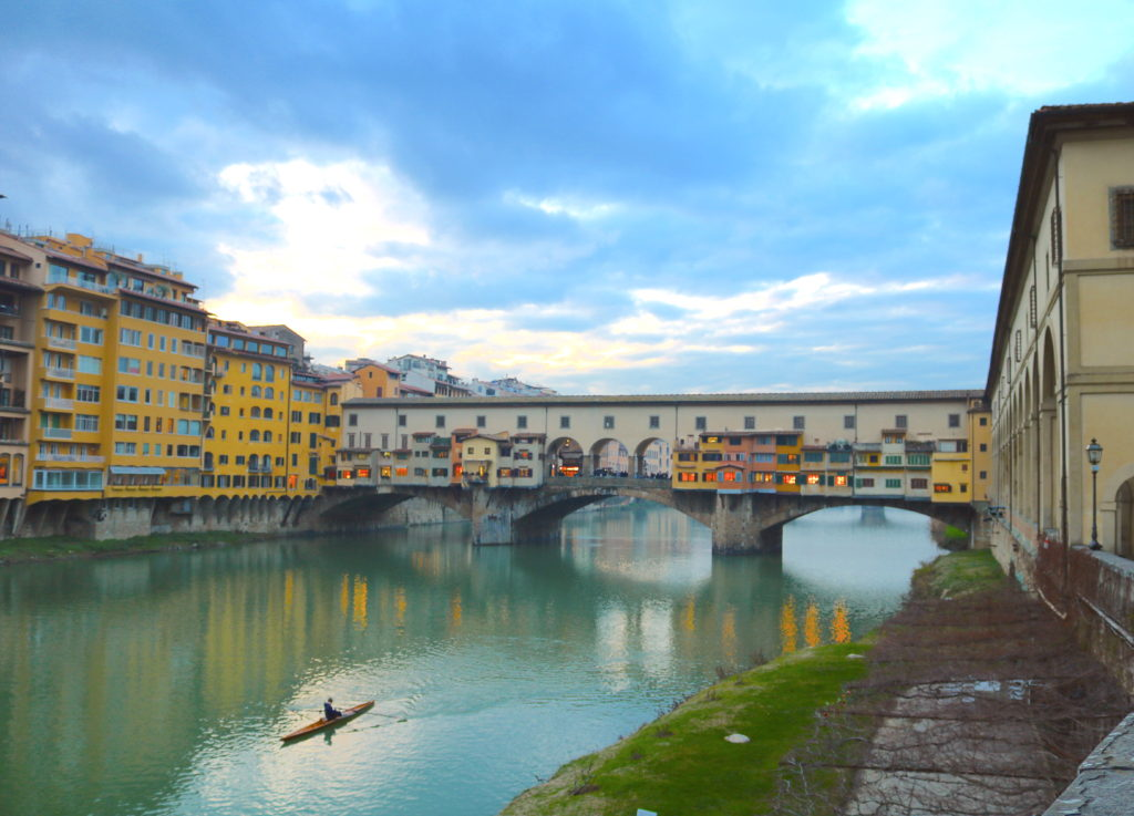 Ponte Vecchio Florence Firenze Tuscany Family Vacation